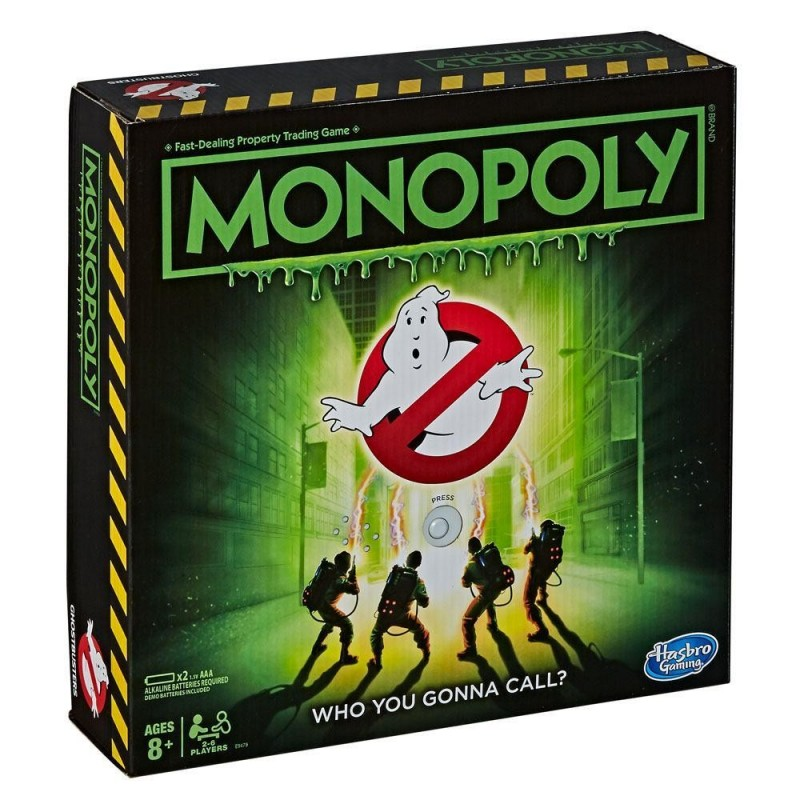 GHOSTBUSTERS - Monopoly - Board Game (UK Only) 185643  Allerlei