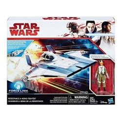 STAR WARS Force Link - Resistance A-Wing Fighter 163337  Figurines