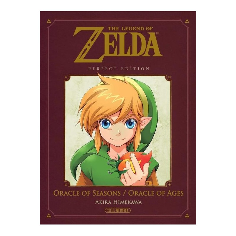 THE LEGEND OF ZELDA - ORACLE OF SEASONS AND AGES - PERFECT EDITION 195955  Boeken