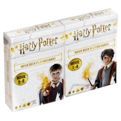 HARRY POTTER - Movie Deck Playing Cards - DUOPACK 196047  Allerlei