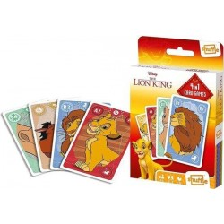 LION KING - Kaartspellen 4 in 1