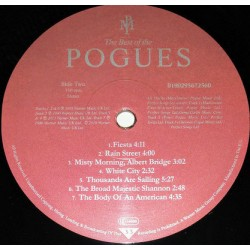 The Pogues - The Best Of The Pogues (LP) 3806  LP's