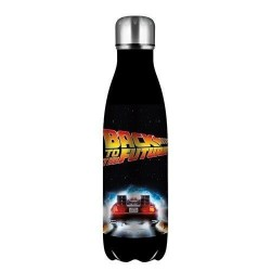 BACK TO THE FUTURE - Metal Water Fles - 500ml