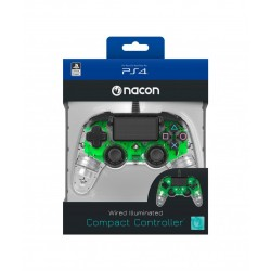 NACON WIRED OFFICIAL CONTROLLER CLEAR GREEN PS4