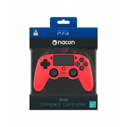 NACON WIRED OFFICIAL CONTROLLER RED PS4