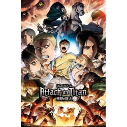 ATTACK ON TITAN S2 - Poster 61x91.5cm