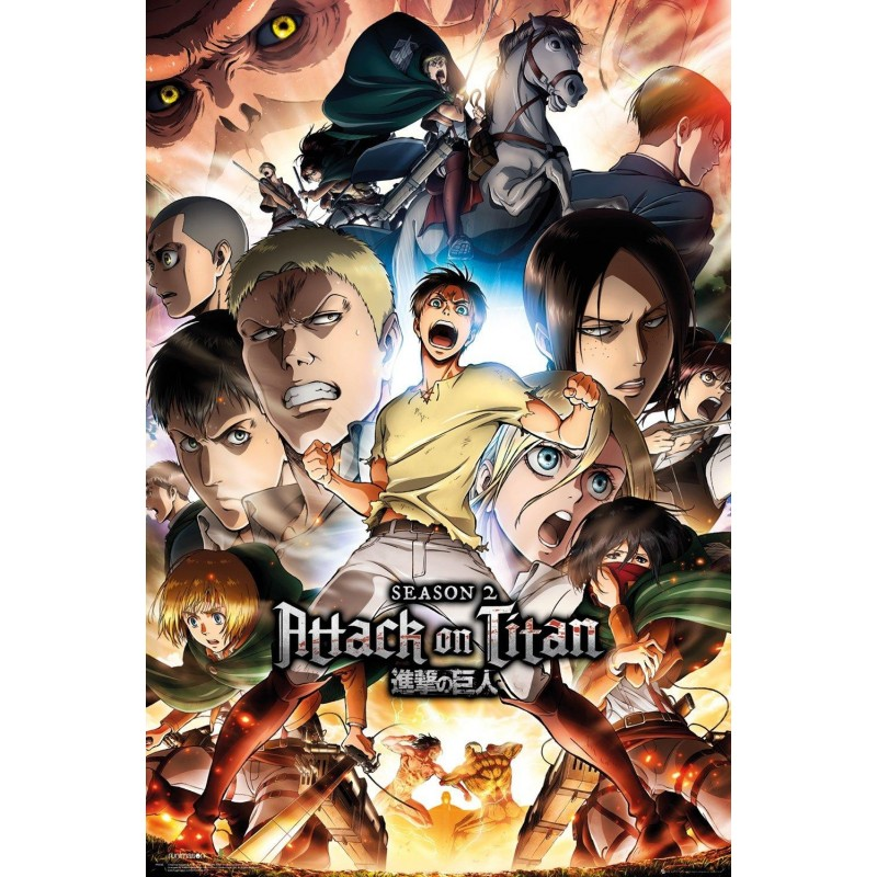 ATTACK ON TITAN S2 - Poster '61x91.5cm' 196548  Posters