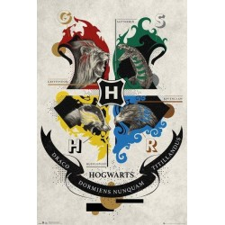 HARRY POTTER - Crest - Poster '61x91.5cm' 196552  Posters
