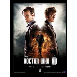DOCTOR WHO - Day of the Doctor - Ingelijste Poster 30x40cm