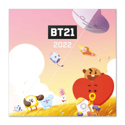 LINE FRIENDS - BT21 - Calendar 2022 30x30cm