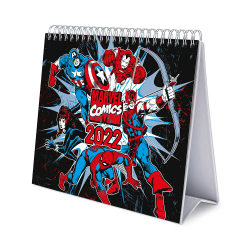 MARVEL COMICS - Desk Calendar 2022 17x20cm