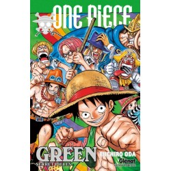 ONE PIECE CHARACTERS WORLD - GREEN