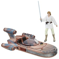 STAR WARS Black Series - Luke Skywalker X-34 Landspeeder