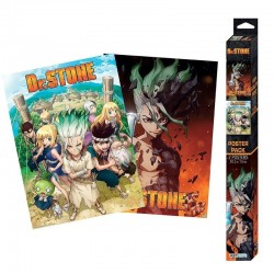 DR STONE - Set 2 posters '52x38' 197558  Posters
