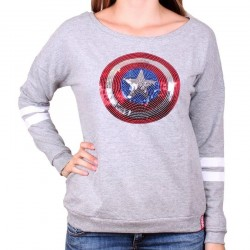 MARVEL - Pull Over GIRLS - Captain America (M)