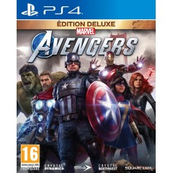 Marvels Avengers Deluxe Edition