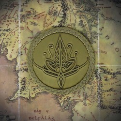 THE LORD OF THE RINGS - Elven - Limited Edition Medallion