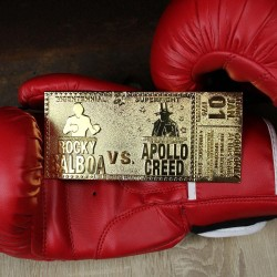 ROCKY - 45th Anniversary - 24k Gold Plated Ticket Collector