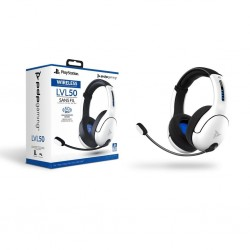 Official Playstation Draadloze Headset LVL50 PS4 / PS5 White