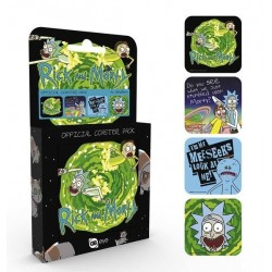 RICK & MORTY - Official Coaster Pack - Mix 163014  Onderzetters