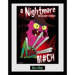 RICK & MORTY - Collector Print 30X40 - Scary Terry 163007  Collector Print Canvas