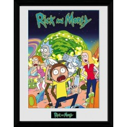 RICK & MORTY - Collector Print 30X40 - Compilation 163005  Collector Print Canvas