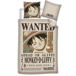 ONE PIECE - Wanted - Duvet Cover 140x200cm  - '100% microfiber'