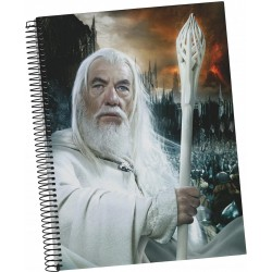 LORD OF THE RINGS - Gandalf - A5 Spiral Notebook