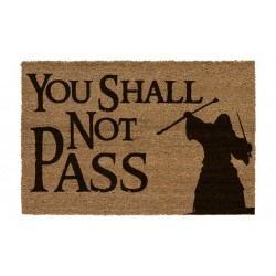 LORD OF THE RINGS - You Shall Not Pass - Doormat 60x40x2cm