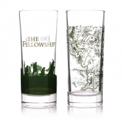 LORD OF THE RINGS - The Fellowship - Set of 2 Glasses 300ml