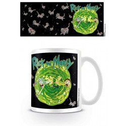 RICK & MORTY - Mug - 300 ml - Floating Cat Dimension 162983  Drinkbekers - Mugs