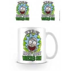 RICK & MORTY - Mug - 300 ml - Wrecked Son 162982  Drinkbekers - Mugs
