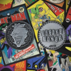 DC COMICS - The Joker - Limited Edition Metal Coin 198425  Nieuwe imports