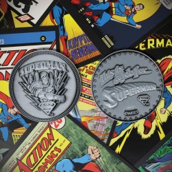 DC COMICS - Superman - Limited Edition Metal Coin 198426  Nieuwe imports
