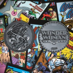 DC COMICS - Wonder Woman - Limited Edition Metal Coin 198428  Nieuwe imports