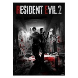 RESIDENT EVIL 2 - Artwork Collector '42x30cm' 198438  Nieuwe imports