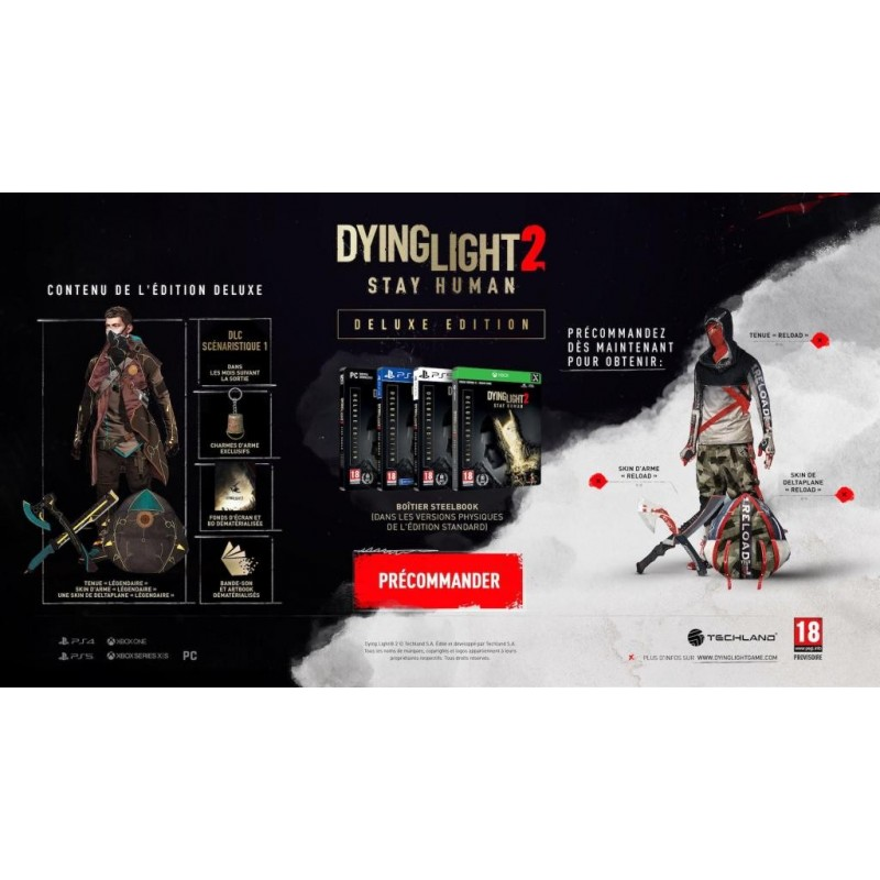 Dying Light 2 - Stay Human Deluxe Edition (Code in Box) 198514  PC Games