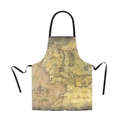 LORD OF THE RINGS- Apron - Map