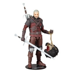 THE WITCHER 3 - Geralt of Rivia (Wolf Armor) - Action Figure 18cm