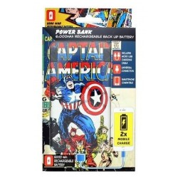 MARVEL - POWER BANK 6000 mAh - Captain America 162929  Power Bank