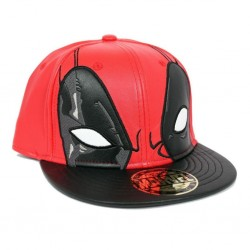 MARVEL - Deadpool Eyes on You Leatherette Cap