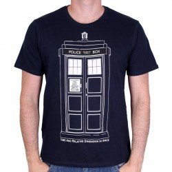 DOCTOR WHO - T-Shirt Tradis Draw (L) 162859  T-Shirts Doctor Who