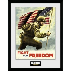 CALL OF DUTY WWII - Collector Print 30X40 - Fight for Freedom 162494  Collector Print Canvas