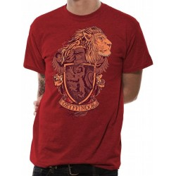 HARRY POTTER - T-Shirt IN A TUBE- Gryffindor (M) 162402  T-Shirts Harry Potter