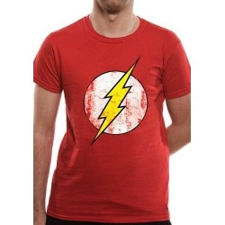 FLASH - T-Shirt IN A TUBE- Distressed Logo (M) 162360  T-Shirts Flash