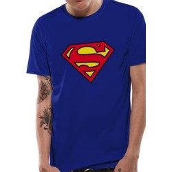 SUPERMAN - T-Shirt IN A TUBE- Logo (S) 162351  T-Shirts Superman