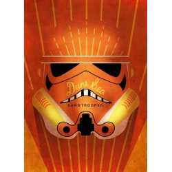 STAR WARS MASKED TROOPER - Magnetic Metal Poster 15x10 - Sandtrooper 162244  Star Wars