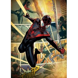 MARVEL ALL NEW - Magnetische Metalen Poster 15x10 - Spider-Man (S)