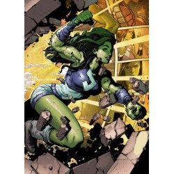 MARVEL ALL NEW - Magnetic Metal Poster 15x10 - She-Hulk (S) 162178  Magnetische Posters