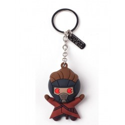 GUARDIANS OF THE GALAXY - Rubber 3D Keychain - Star Lord 162025  Sleutelhangers